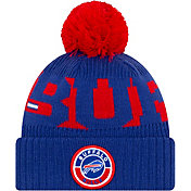 New Era Men's Buffalo Bills Sideline Sport Knit Pom Beanie