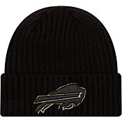 New Era Men's Salute to Service Buffalo Bills Black Knit