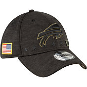 New Era Men's Salute to Service Buffalo Bills 39Thirty Stretch Fit Black Hat