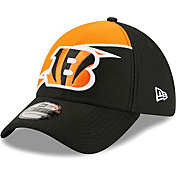 New Era Men's Cincinnati Bengals Black 39Thirty Bolt Fitted Hat