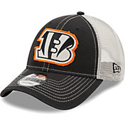 New Era Men's Cincinnati Bengals Black 9Forty Rugged Adjustable Hat