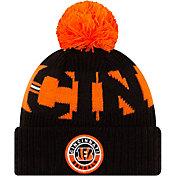 New Era Men's Cincinnati Bengals Sideline Sport Black Knit Hat