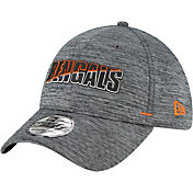 New Era Men's Cincinnati Bengals Grey Summer Sideline 39Thirty Stretch Fit Hat