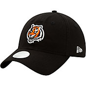 New Era Women's Cincinnati Bengals Black Glisten 9Twenty Adjustable Hat