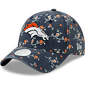 New Era Women's Denver Broncos Orange Blossom Adjustable Hat