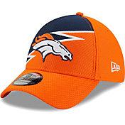 New Era Men's Denver Broncos Orange 39Thirty Bolt Fitted Hat