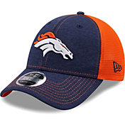 New Era Youth Denver Broncos Orange 9Forty Neo Adjustable Hat