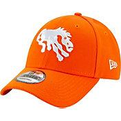 New Era Men's Denver Broncos Orange League 9Forty Adjustable Hat