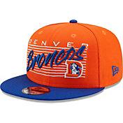 New Era Men's Denver Broncos Blue 9Fifty Strike Adjustable Hat