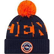 New Era Men's Denver Broncos Sideline Sport Orange Knit Hat