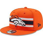 New Era Men's Denver Broncos Orange 9Fifty Strike Adjustable Hat