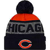 New Era Men's Chicago Bears Pom Knit Hat