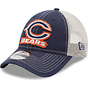 New Era Men's Chicago Bears Navy 9Forty Rugged Adjustable Hat