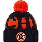 New Era Men's Chicago Bears Sideline Sport Navy Knit Hat