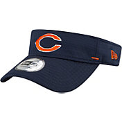 New Era Men's Chicago Bears Navy Summer Sideline Visor