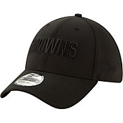 New Era Men's Cleveland Browns Black 39Thirty Tonal Fitted Hat