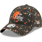 New Era Women's Cleveland Browns Brown Blossom Adjustable Hat