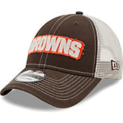 New Era Men's Cleveland Browns Brown 9Forty Rugged Adjustable Hat