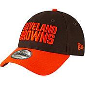 New Era Men's Cleveland Browns Orange League 9Forty Adjustable Hat
