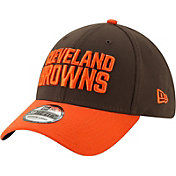 New Era Men's Cleveland Browns Orange 39Thirty Classic Fitted Hat