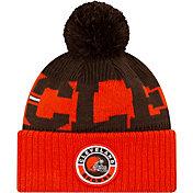 New Era Men's Cleveland Browns Sideline Sport Orange Knit