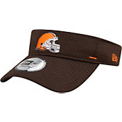 New Era Men's Cleveland Browns Brown Summer Sideline Visor