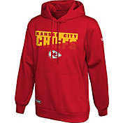 New Era Men's Kansas City Chiefs Combine Red Pullover Hoodie