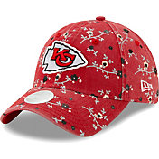 New Era Women's Kansas City Chiefs Red Blossom Adjustable Hat