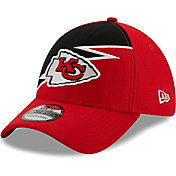 New Era Men's Kansas City Chiefs Red 39Thirty Bolt Fitted Hat