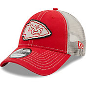 New Era Men's Kansas City Chiefs Red 9Forty Rugged Adjustable Hat