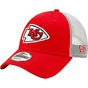 New Era Men's Kansas City Chiefs Red 9Forty Trucker Adjustable Hat