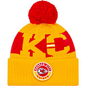 New Era Men's Kansas City Chiefs Sideline Sport Gold Knit