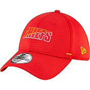 New Era Men's Kansas City Chiefs Red Summer Sideline 39Thirty Stretch Fit Hat