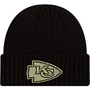 New Era Men's Salute to Service Kansas City Chiefs Black Knit