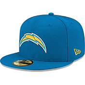 New Era Men's Los Angeles Chargers Blue 59Fifity Logo Fitted Hat