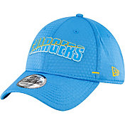 New Era Men's Los Angeles Chargers Blue Summer Sideline 39Thirty Stretch Fit Hat