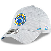 New Era Men's Los Angeles Chargers Sideline Road 39Thirty Stretch Fit Hat