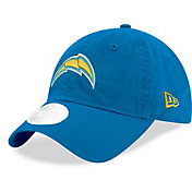 New Era Women's Los Angeles Chargers Royal Glisten 9Twenty Adjustable Hat