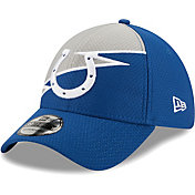 New Era Men's Indianapolis Colts Blue 39Thirty Bolt Fitted Hat