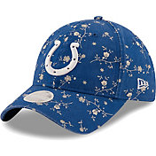 New Era Women's Indianapolis Colts Blue Blossom Adjustable Hat