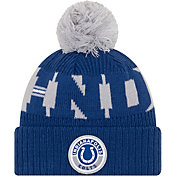 New Era Men's Indianapolis Colts Sideline Sport Blue Knit Hat