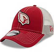 New Era Men's Arizona Cardinals Red 9Forty Rugged Adjustable Hat