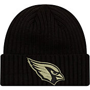 New Era Men's Salute to Service Arizona Cardinals Black Knit Hat