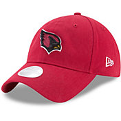 New Era Women's Arizona Cardinals Red Glisten 9Twenty Adjustable Hat