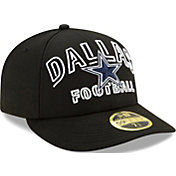 New Era Men's Dallas Cowboys 2020 NFL Draft 59Fifty Fitted Black Hat