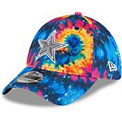 New Era Men's Dallas Cowboys Sideline Crucial Catch 39Thirty Tye Dye Stretch Fit Hat