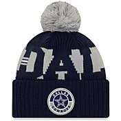 New Era Men's Dallas Cowboys Sideline Sport Navy Knit Hat