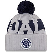 New Era Men's Dallas Cowboys Sideline Sport Grey Knit Hat