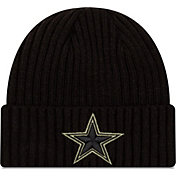 New Era Men's Salute to Service Dallas Cowboys Black Knit
