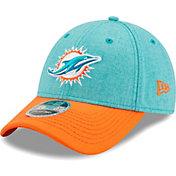 New Era Men's Miami Dolphins Aqua League 9Forty Adjustable Hat